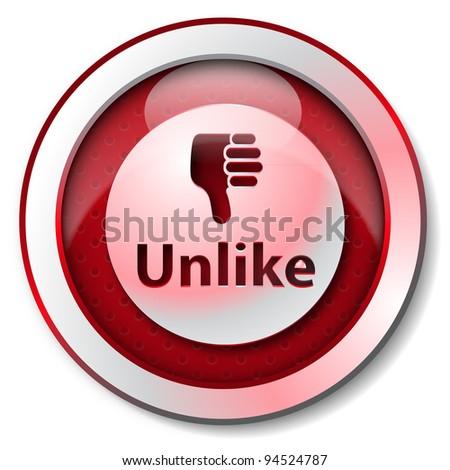 Unlike Thumb Down Icon