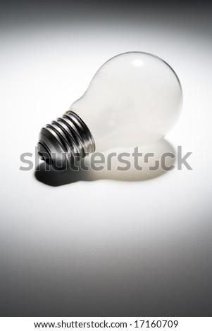 Unlit Light Bulb Foto d'archivio ©