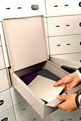 unlock deposit safe