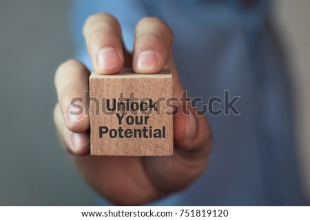 Unlock Your Potential Stockfoto ©