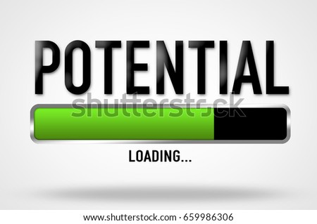 unlock your potential - loading status