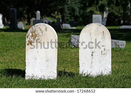 Unmarked Tombstones