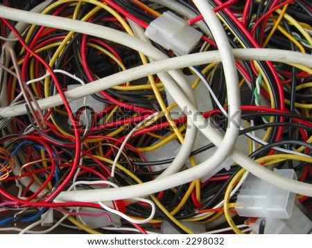 Unorganized wires