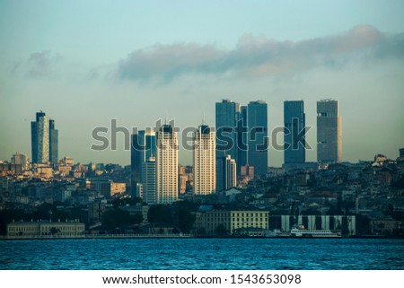 unplanned urbanization is a great problem for metropolis like Istanbul city #1543653098