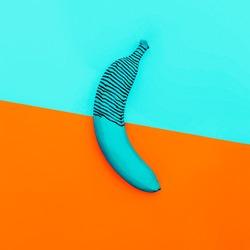 Unreal Banana. Fashion Minimalism style photo