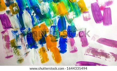 Unusual Acrylic Plastic. italian print Water Colour Logo.  Colourful Geometric Cartoon. Colorful Explosion Science. Grunge Wall Texture.