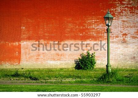 unusual light on the unusual background