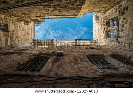 Up to the sky - Old city Jerusalem