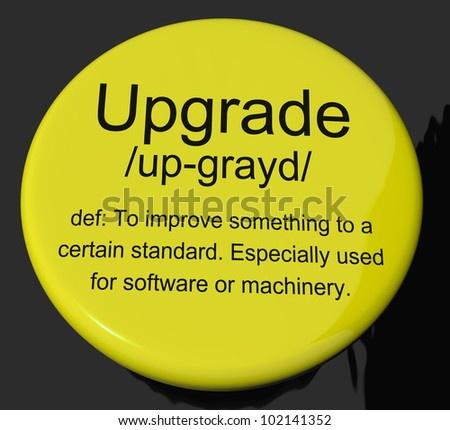 Upgrade Definition Button Shows Software Update Or Installation Fix
