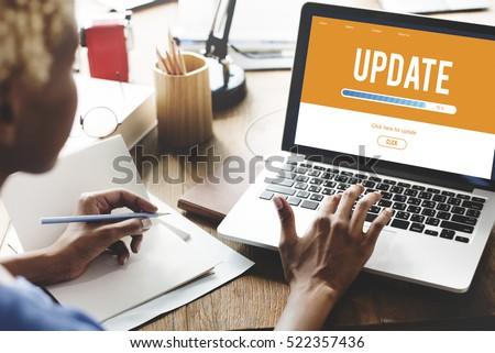 upgrade update software latest...