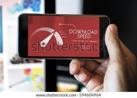 Upload Speedometer Download Fast Data #594604964