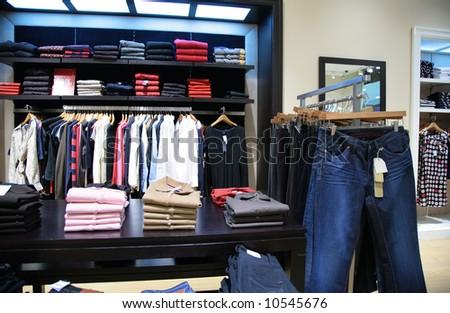 upper clothes in shop 2