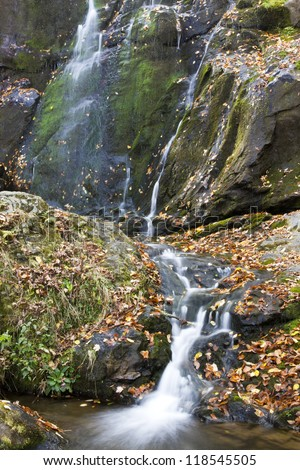 Upper Dark Hollow Falls, Shenandoah National Park