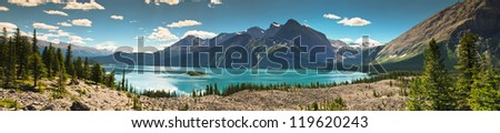 Upper Kananaskis Lakes area Peter Lougheed Provincial Park