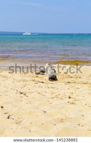 Upper Peninsula Beach - Michigan, USA