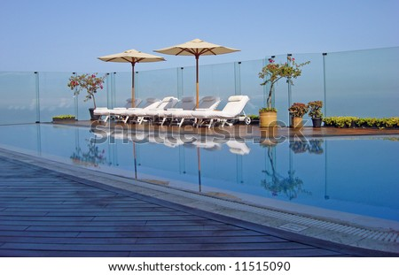Upscale Hotel in Miraflores, Peru near Lima in South America - stock photo