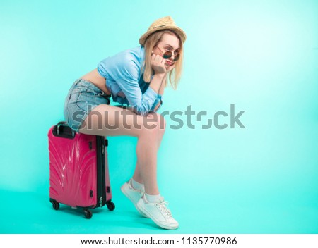 upset young woman has missed the train.close up side view photo.copy space. look for accomodation