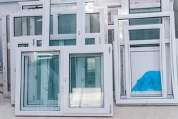 UPVC Windows and Doors Manufacturing, Plastic Windows Factory Interrior