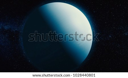 Uranus - planets of the Solar system in high quality. Science wallpaper. Uranus Is The Planet