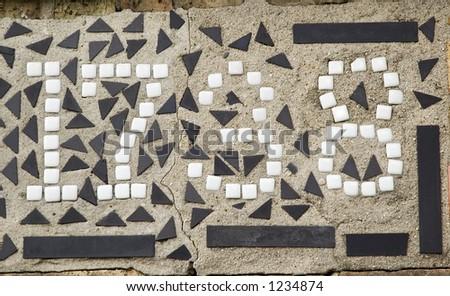 Urban address in small tiles