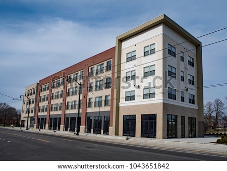 Urban Apartment Building, Renovated Warehouse