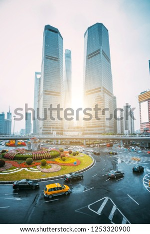 Urban Architecture and Road Traffic Transportation #1253320900