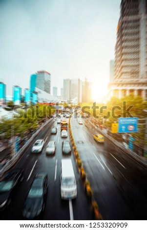 Urban Architecture and Road Traffic Transportation #1253320909