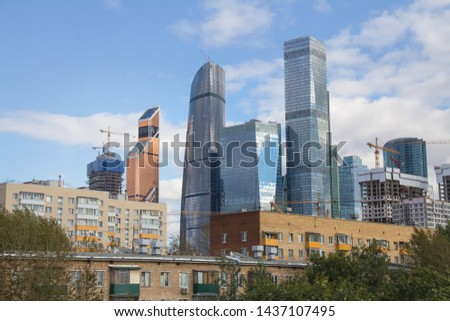 Urban contrast peculiar to Moscow and other metropolitan areas #1437107495