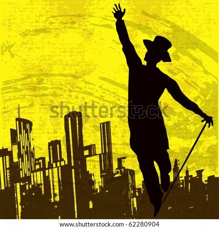 Urban Dancer Bitmap Background
