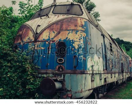 urban decay   blue train...