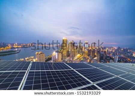 Urban electricity concept Urban electricity concept