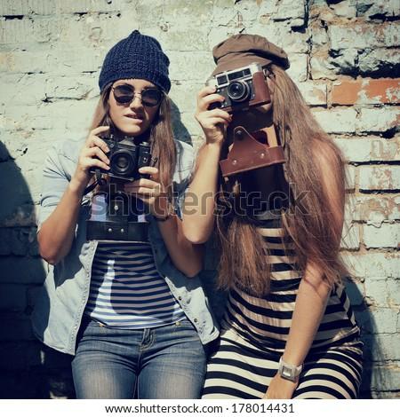 urban girls have fun with...