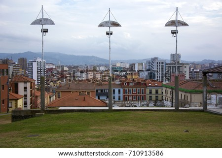Urban landscape  #710913586
