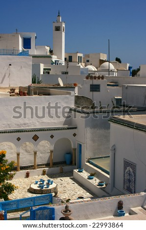 Urban landscape. Tunis