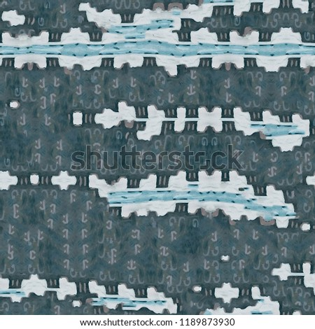 Urban modern seamless pattern. Ideal texture for fashion fabric or modern objects.Created by the artist using oil paint