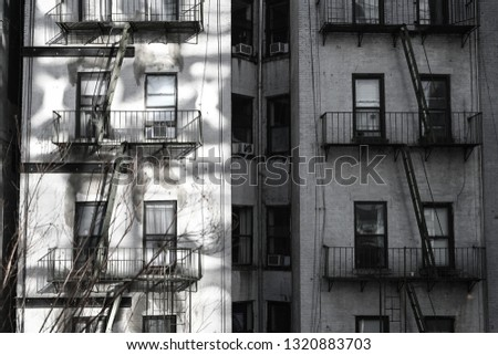 Urban NYC buildings