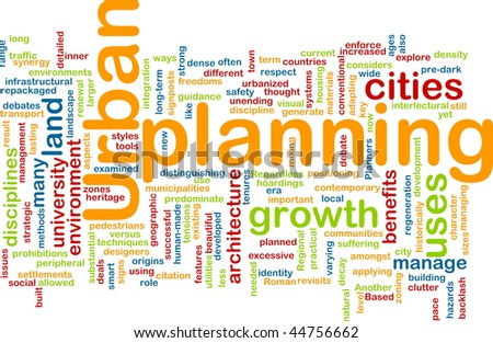 Urban Planning Concepts Urban Planning Background