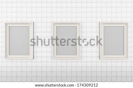 Urban posters ,Blank Sign,Brick wall,
