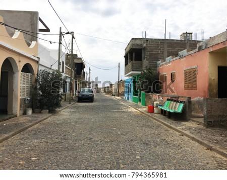 urban road in rabil  former...