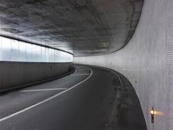 urban tunnel in paris