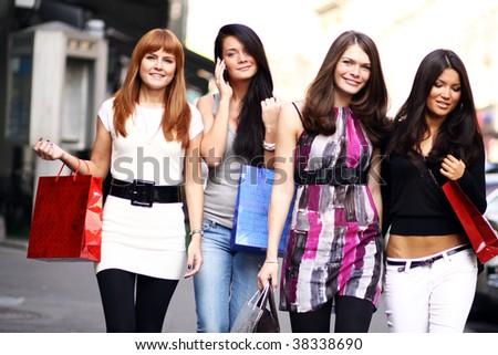 urban women outdoor