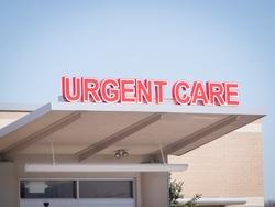 urgent care medical sign
