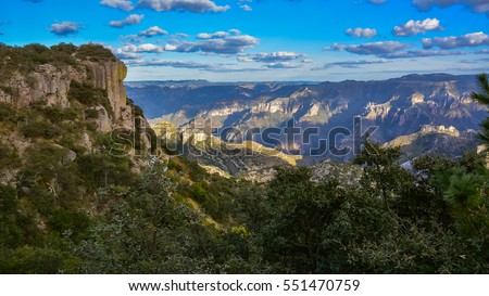 Urique Canyon, one of the Canyons in the Copper Canyon Complex - Sierra Madre Occidental, Chihuahua, Mexico