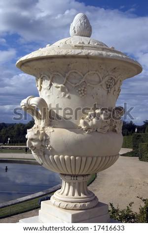 Urn Statue Palace Versailles