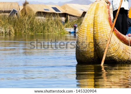 Uros Floating Islands, Lake Titicaca, Peru #145320904