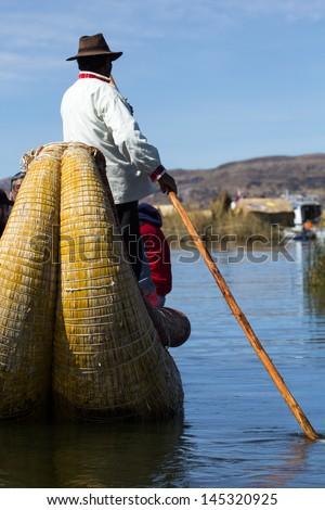 Uros Floating Islands, Lake Titicaca, Peru #145320925