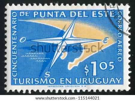 uruguay   circa 1959  stamp...