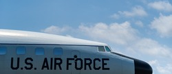 US Air Force aircraft background.