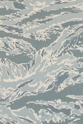 US air force digital tigerstripe abu camouflage fabric texture background