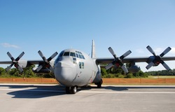 US Air Force transport airplane C-130